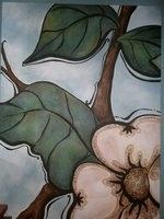 http://www.juliekross.com/fine-art/acrylic-paintings